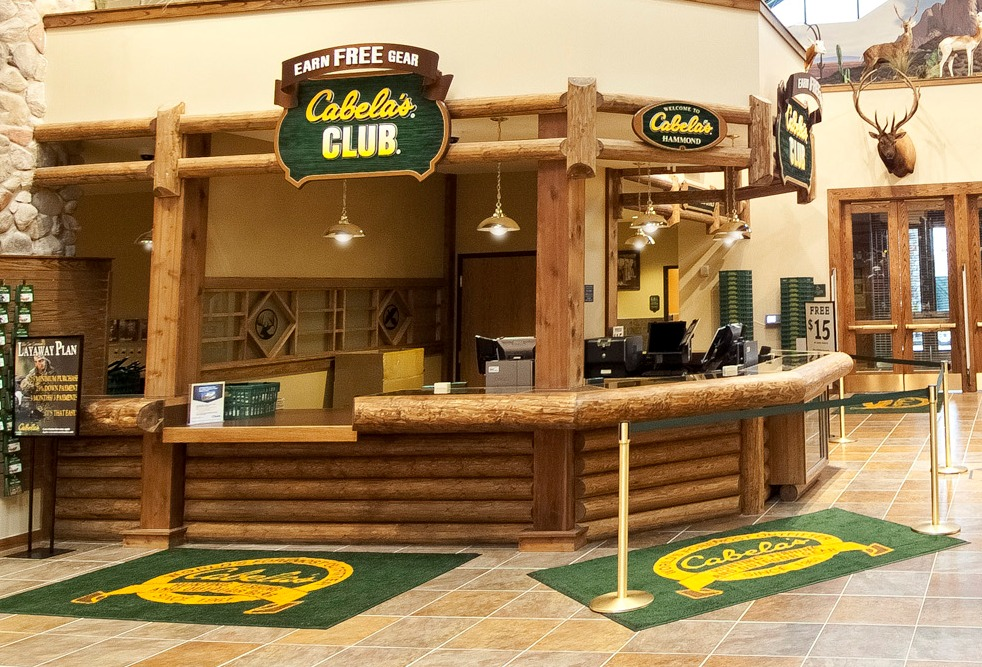 Cabela's CLUB Close-up