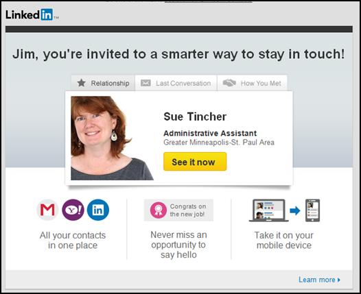 LinkedIn Invitation