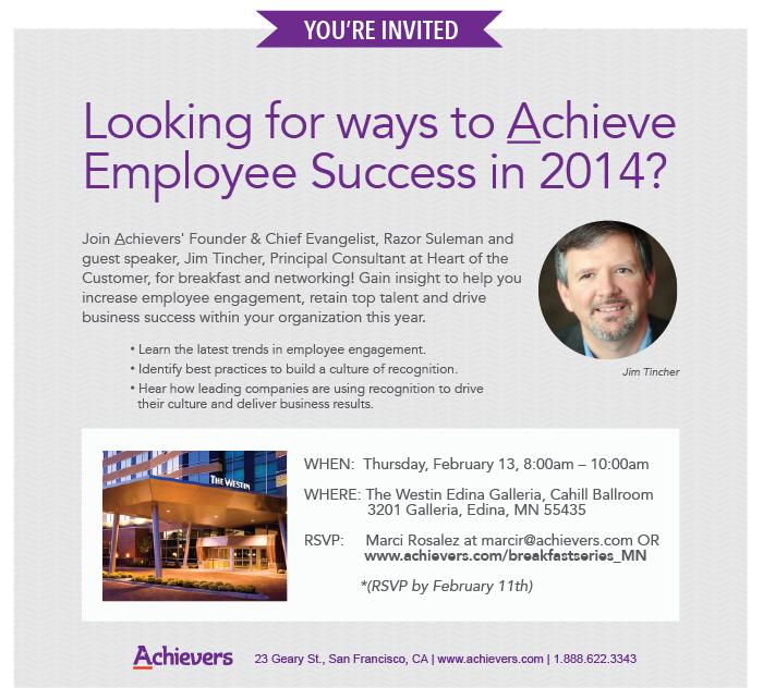 Achievers-HotC Minnesota Event