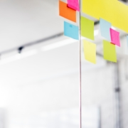 Journey Mapping with Post its