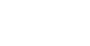 96% of our business is journey mapping