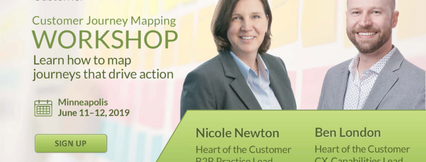 Nicole Newton and Ben London-Customer Journey Mappers