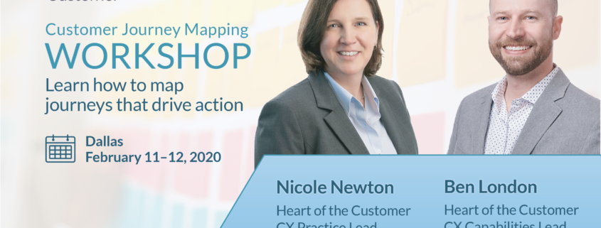 Journey Mapping Workshop Dallas