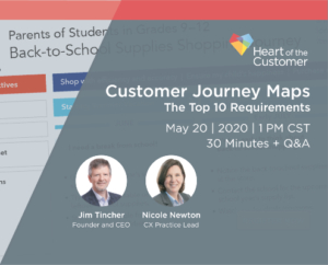 Customer Journey Maps: the Top Ten Requirements